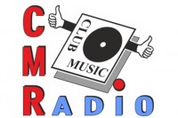 Club music radio logo