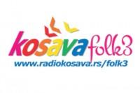 Košava Folk 3 Radio logo